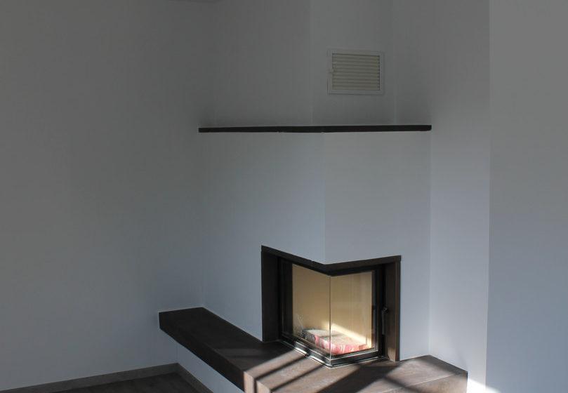 Kamin-Wohnzimmer